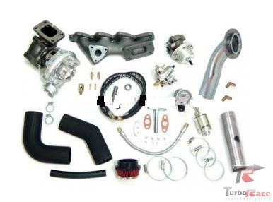 Kit turbo VW - EA111 - 1.6 - Transversal Gol / Saveiro /Voyage (Novo) G5 com Turbina