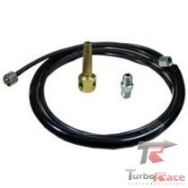 Kit de instalação manômetro de óleo nylon para motor opala