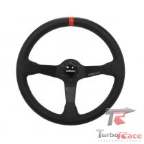 Volante WRC (couro tarja vermelha)